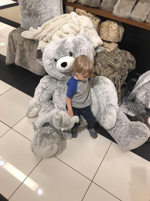 Toy big soft bear